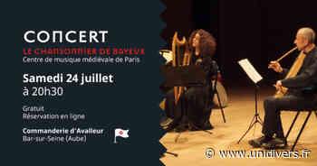 Concert : Le Chansonnier de Bayeux La commanderie d'Avalleur samedi 24 juillet 2021 - Unidivers