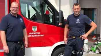 Corona in Hennigsdorf: So meisterte die Feuerwehr die von der Pandemie heraufbeschworenen Schwierigkeiten - moz.de