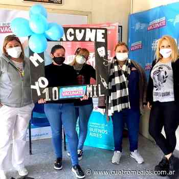 Florencio Varela: el centro de Salud Paulo Freire alcanzó las 10 mil dosis aplicadas contra el coronavirus - Cuatro Medios