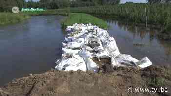 Gevaar voor overstromingen nog niet geweken in Herk-de-Stad - TV Limburg