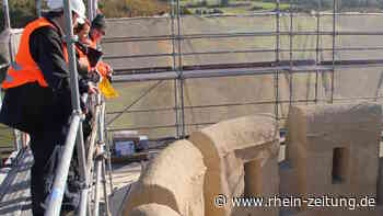 Seit 2011 erneutert: Gemeinde drängt auf Fertigstellung der Burg Schwalbach - Rhein-Zeitung