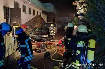 KFV Sigmaringen: Brand im Industriegebiet wurde zum Glück rechtzeitig gemeldet - Presseportal.de