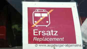 Nach Starkregen bei Ehingen: Zugstrecke zwischen Ulm und Sigmaringen bleibt gesperrt - Augsburger Allgemeine