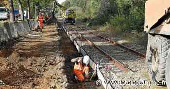 Rénover les rails entre Dinan et Lamballe coûtera plus cher que prévu - Le Télégramme