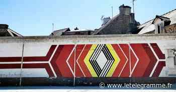 Et si le logo de l'ancien garage Renault à Lamballe était un trésor patrimonial ? - Le Télégramme