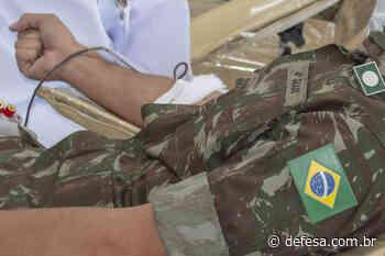 Núcleo de Preparação de Oficiais da Reserva realiza doação voluntária de sangue em Sete Lagoas (MG) - Defesa - Agência de Notícias