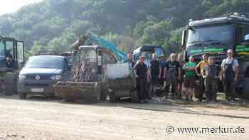 Elf Lenggrieser helfen Flutopfern in Dernau - Gemeinde organisiert Spendenaktion - Merkur.de