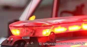 Motorista de aplicativo é agredido durante assalto em Indaial - O Município Blumenau
