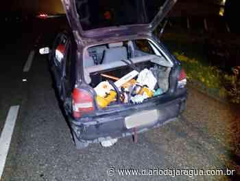 Homem envolvido em furto de loja em Indaial é preso em Guaramirim - Diário da Jaraguá