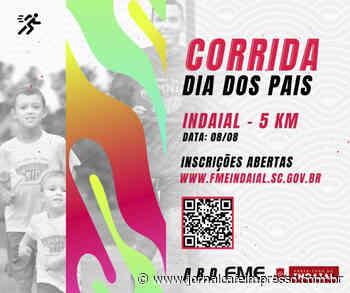 FME Indaial promove 1ª Corrida de Rua Dia dos Pais - Jornal Café Impresso
