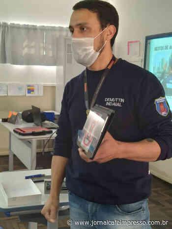 Demuttin realiza palestra sobre Segurança no Trânsito para Grupo Escoteiro de Indaial - Jornal Café Impresso
