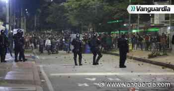 En fotos: Tras movilizaciones se registraron desmanes en Bucaramanga - Vanguardia