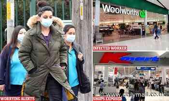 Coronavirus Australia: New list of Sydney exposure sites - Coles, Kmart, Woolworths - Daily Mail