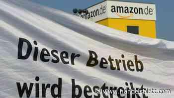 Onlinehändler: Erneuter Warnstreik bei Amazon in Bad Hersfeld - Handelsblatt