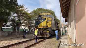 Pedestre é atingido por trem na área central de Juiz de Fora - G1