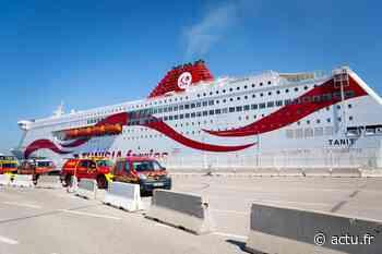 Marseille. Les marins-pompiers font un don de 1 600 tests antigéniques à une compagnie tunisienne - actu.fr