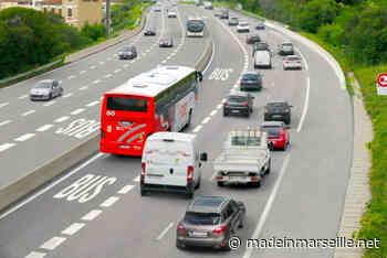 Marseille : Début des travaux pour la nouvelle voie réservée aux bus sur l'A7 - Made in Marseille