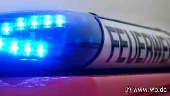 Feuer in Wilnsdorf: Opel und Chevrolet brennen völlig aus - Westfalenpost