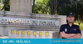 """Aguayo, el policía que salvó la vida a Alfonso en Málaga: """"Creí que no salíamos ninguno de los dos"""" - El Español"""