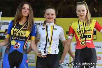 Auke De Buysser beste bij de 15-jarige meisjes