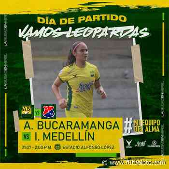 Ver en vivo Bucaramanga vs Medellín por la fecha 3 de la Liga BetPlay Femenina - Futbolete
