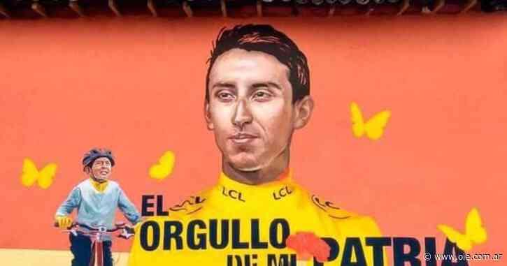 El emotivo video de Egan Bernal por la muerte de Julián Gómez - Olé