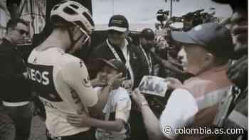 Egan Bernal se despide de Julián Torres: 'Hoy lloramos por ti' - AS Colombia