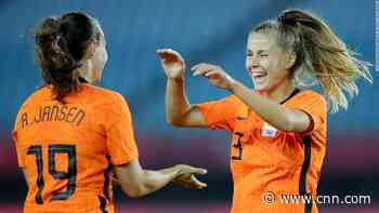 Netherlands thrashes Zambia 10-3 in women's football tournament to set new Olympics record - CNN