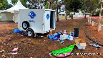 Griffith's drive-through COVID-19 testing clinic trashed by vandals - Goulburn Post