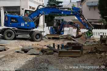Straßenbau in Reichenbach läuft auf Sparflamme - Freie Presse