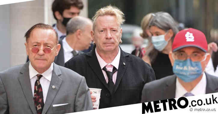 John Lydon says 'no money in the world is worth a lie' as Sex Pistols court case rumbles on