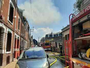 Le Treport : incendie dans une habitation de la rue Alexandre-Papin - actu.fr