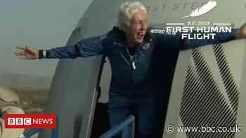Wally Funk: The 82-year-old on Jeff Bezos's Blue Origin flight