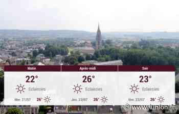 Soissons et ses environs : météo du mardi 20 juillet - L'Union