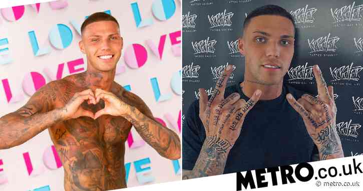 What tattoos does Danny Bibby from Love Island have and what do they mean?