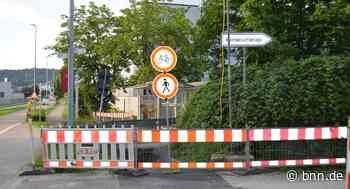 Baustelle beim Pumpwerk bringt Probleme für Radfahrer in Gaggenau-Ottenau - BNN - Badische Neueste Nachrichten