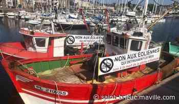 À Paimpol, les pêcheurs réitèrent leur opposition au projet de parc éolien en baie de - maville.com