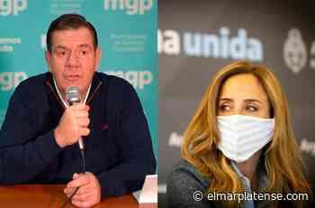 Fuerte respuesta del gobierno de Montenegro a Tolosa Paz: - El Marplatense
