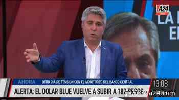 El comentario de Maxi Montenegro: otro día de tensión con el dólar y con el BCRA pulseando para evitar que se dispare - A24.com
