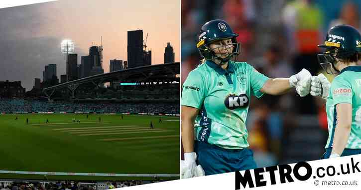 Boundaries, drama and singers: Oval Invincibles beat Manchester Originals in thrilling first Hundred match
