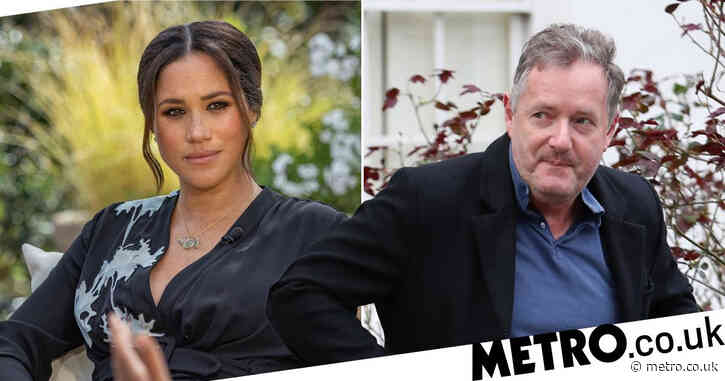 Piers Morgan doubles down on refusal to apologise to Meghan Markle after being told to 'stop sulking'