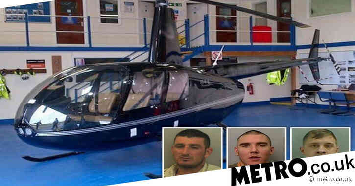 Cocaine dealers flew drugs from Spain into holiday homes by helicopter