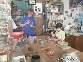 Des stages de poterie destinés aux enfants, à Bourges - Le Berry Républicain