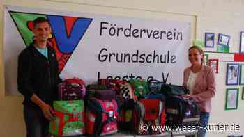 Grundschule Leeste: Ranzen für bedürftige Kinder gespendet - WESER-KURIER - WESER-KURIER