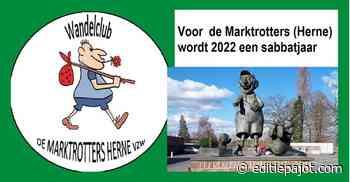HERNE/GALMAARDEN – Wandelvereniging De Marktrotters noodgedwongen aan een sabbatjaar toe - Editiepajot
