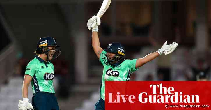 The Hundred women's opener: Oval Invincibles beat Manchester Originals – as it happened