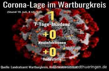 Corona-Lage im Wartburgkreis - Keine neuen Corona-Fälle - inSüdthüringen