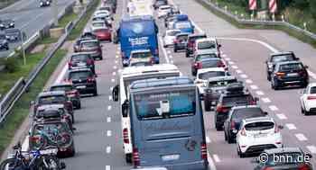 Zusammenstoß mit Betonschutzwand 30-Jähriger verursacht unter Drogeneinfluss Unfall auf der A5 bei Kronau von unserer - BNN - Badische Neueste Nachrichten