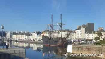 La réplique d'un navire espagnol du XVIIe siècle à Cherbourg - France Bleu