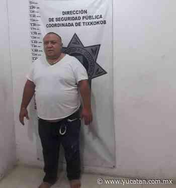 Detienen ebrio a alcalde electo de Tixkokob - El Diario de Yucatán